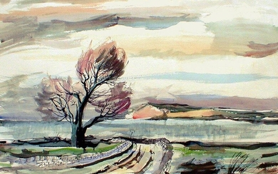 Rowland Suddaby, British 1912-1972- Road to the...