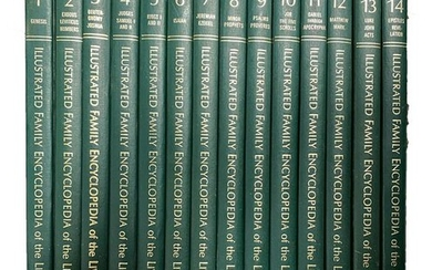 Set of Vintage Books of Illustrated Family Encyclopedia
