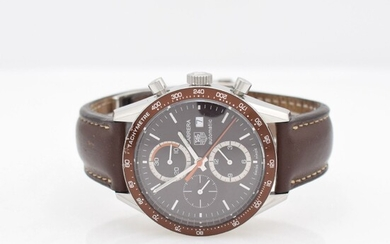 TAG HEUER Carrera gents wristwatch with chronograph,...