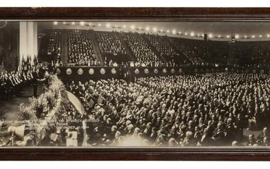 Theodore Roosevelt Conference on Crime Panoramic Photo.