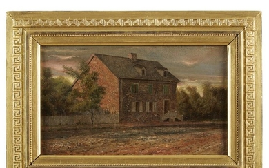 Thomas Otter (1832-1890) Two works: Washington's Headquarters near Hartsville,...