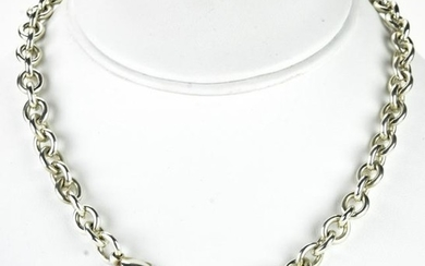 Vintage Return to Tiffany Sterling Tag Necklace