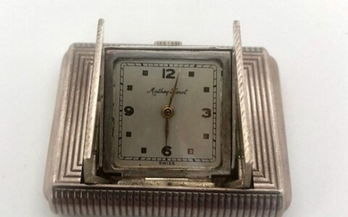 Vintage art deco watch Signed Mathey Tissot