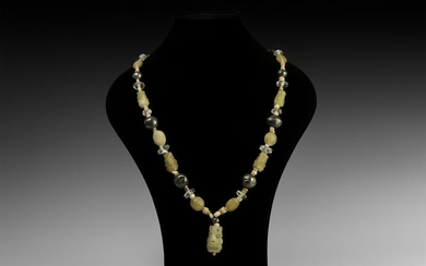 Western Asiatic Mixed Bead Necklace
