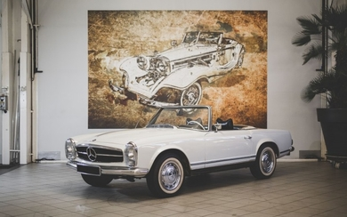 1969 Mercedes-Benz 280 SL Automatique No reserve