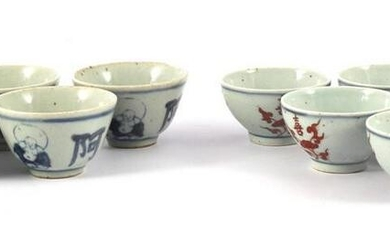 6 Chinese porcelain bowls