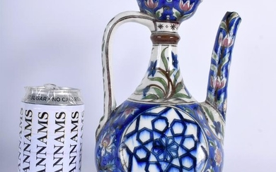 A RARE 19TH CENTURY MIDDLE EASTERN PALESTINE POTTERY