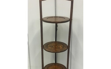 A delightful 3-tiered folding cake stand. Dimensions(cm) H85...