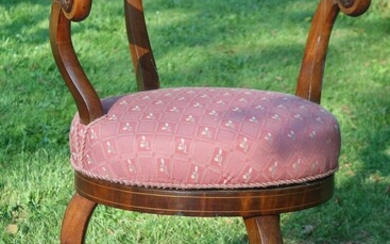 A late Empire mahogany chair. C. 1830. – Bruun Rasmussen Auctioneers of Fine Art