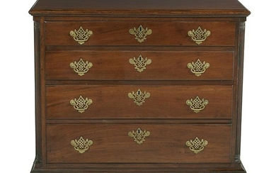 American Chippendale Mahogany Chest