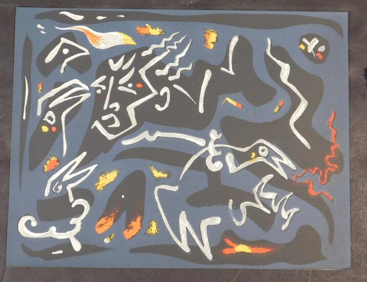 Andre Masson (French, 1896-1981): From Le Mythe de Sisyphe