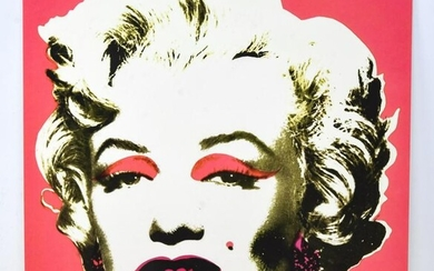 Andy Warhol Marilyn Monroe Offset Litho Invitation