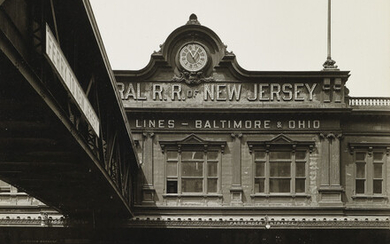 BERENICE ABBOTT (1898 1991) Ferry Central Railway of New Jes