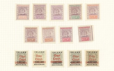 British Guiana 1889-1966 mint collection including 1899 1dc. to 96c. with listed shades, 1898...