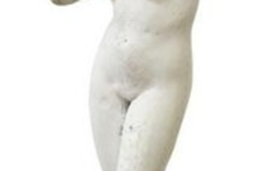 CAST STONE GARDEN STATUARY NUDE BATHER