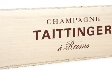 "1 bt. Imp. Champagne ""Brut Reserve"", Taittinger A (hf/in). Owc. – Bruun Rasmussen Auctioneers of..."