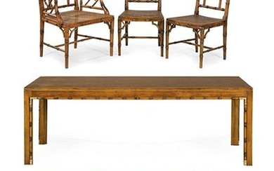 . Dining set by the Valenti brand, consisting of a