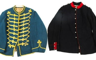 FRENCH III REPUBLIC MILITARY TUNIC LOT OF 2