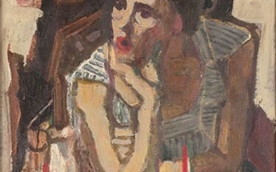 GIANNI VAGNETTI Florence, 1897 - 1956 Untitled Oil on canvas,...