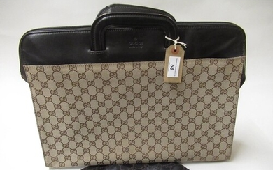Gucci Monogram briefcase / tote bag with original dust bag