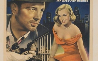 LOT OF 2 BELGIAN POSTERS WITH MARILYN MONROE - WHEN...