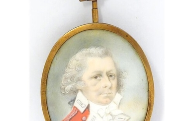 Manner of Richard Cosway (1742-1821), An English 19thC oval ...