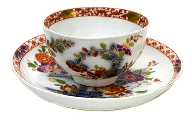 Meissen Porcelain Cup and Saucer.
