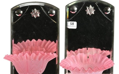 Pair Candle Wall Sconces