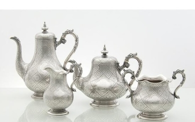 Robert Hennell III Victorian Sterling Tea and Coffee