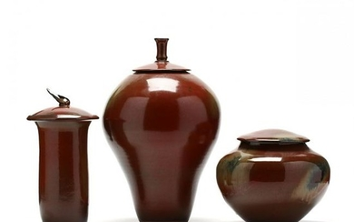 SC Pottery, Dale Duncan, Three Works