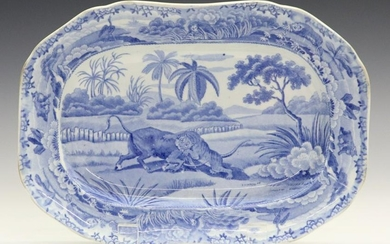 Spode Indian Sporting Series Small Platter