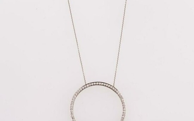 Tiffany & Co. , Round pendant necklace, 1990s