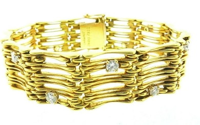 Vintage Chaumet Paris 18k Yellow Gold and 1.56 Carats