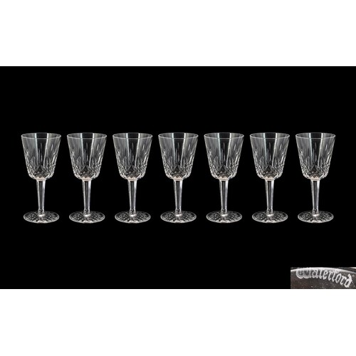 Waterford - Superb Quality Hand Made Cut Crystal Set of ( 7 ...