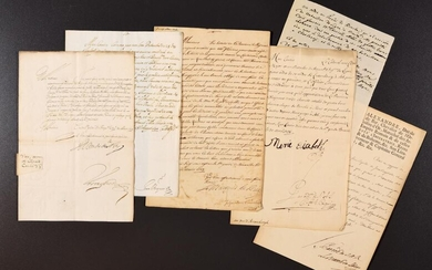 13 LETTERS RELATING TO THE GOVERNMENT OF THE HABSBURG NETHERLANDS.