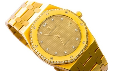 Audemars Piguet - Royal Oak Jumbo diamonds 18k 5402ba only 3 made - 5402BA - Men - 1970-1979