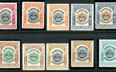 BRITISH ASIA - MINT & USED SELECTION ON STOCKPAGES - inc. Br...