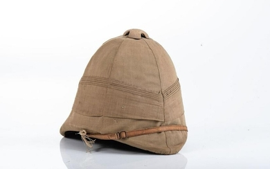BRITISH FOREIGN SERVICE PITH HELMET AND COVER