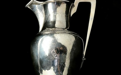 Ball, Black and Co. Sterling Silver Water Pitcher.