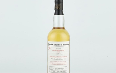 Brora Signatory Vintage The Un-Chillfiltered Collection 20 Year Old 1981 (1 BT70)