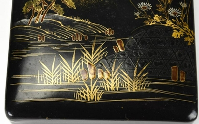 Chinese Hand Painted Lacquer Box