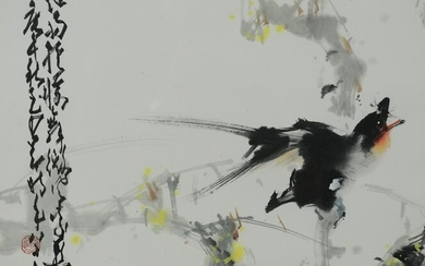 Chinese Painting of Birds by Zhao Shaoang