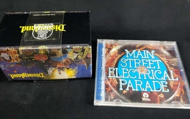 Disneyland Main Street Electrical Parade 1999 CD and
