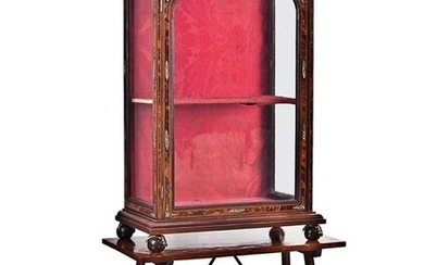 Display cabinet - Bronze, Wood - Early 19th century