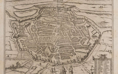 France.- Lorrain.- Braun (Georg) and Franz Hogenberg. Metz, c. 1575 [or slightly later]; and another (2)