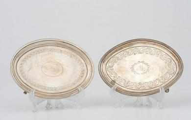 George III Sterling Silver Teapot Stands