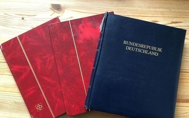 """Germany - Federal Republic 1949/1995 - Complete collection, """"Post Horn"""" set, expertised by Schlegel BPP"""