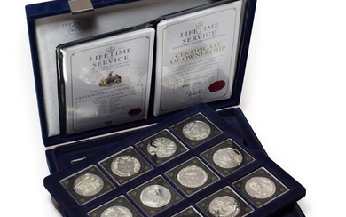 'Lifetime of Service Collection' commemorating the Queen's Diamond Jubilee 1953-2013...