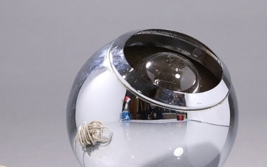 Mid-Century Modern Italian Chrome EYE BALL Hanging Lite