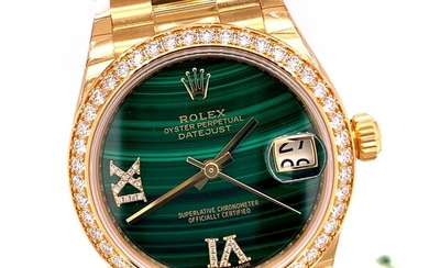 New Rolex Datejust 31mm Yellow Gold Ladies Watch